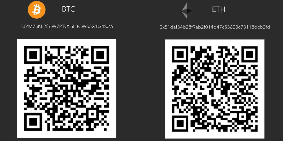 Crypto donations